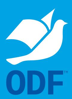 Формат ODF утвержден в качестве государственного стандарта РФ.